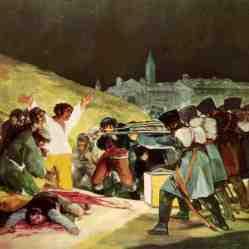 Los fusilamientos del 3 de mayo - Francisco de Goya