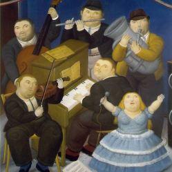 Los músicos - Fernando Botero
