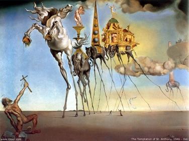 La tentación de San Antonio - Salvador Dalí