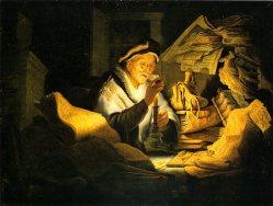 Der reiche Narr - Rembrandt
