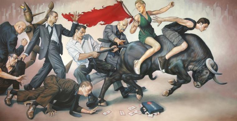 El rescate del toro - Fran Recacha
