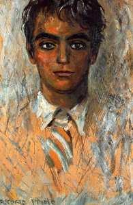 Retrato de Lorca - Gregorio Prieto