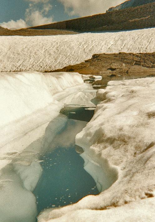 Lago de Marboré helado