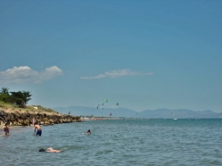 Cometas en la playa de Sant Martí d'Empúries