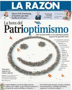 Portada La razón 26 de agosto 2012