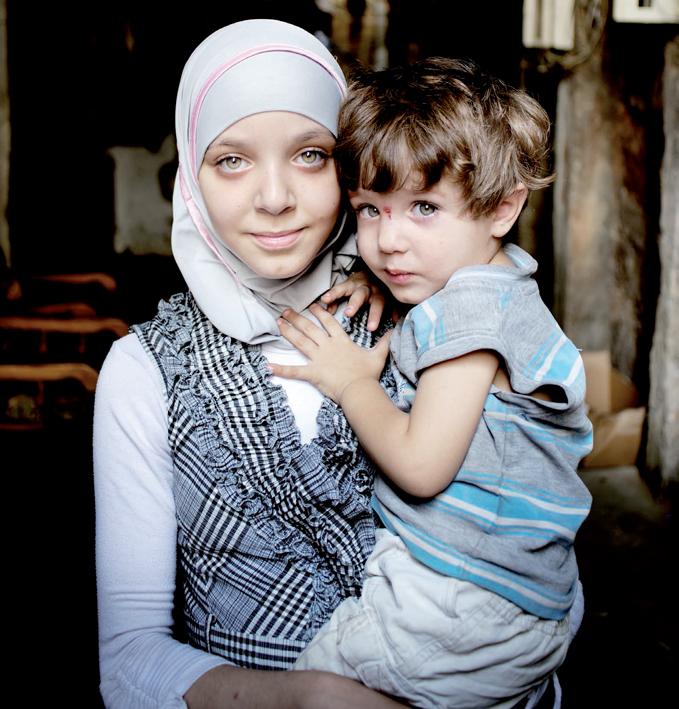Niños en Líbano