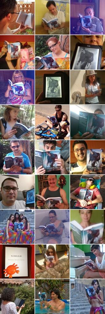 Mosaico lectores 'El viaje de Pau'