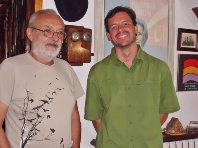 Con José María Escalona