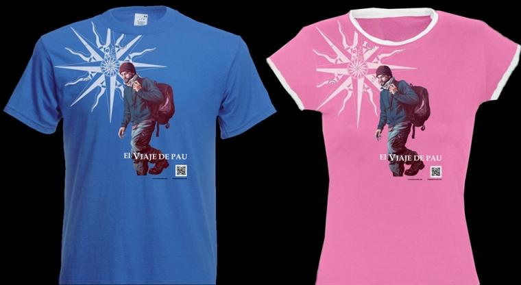 Camisetas 'El viaje de Pau'