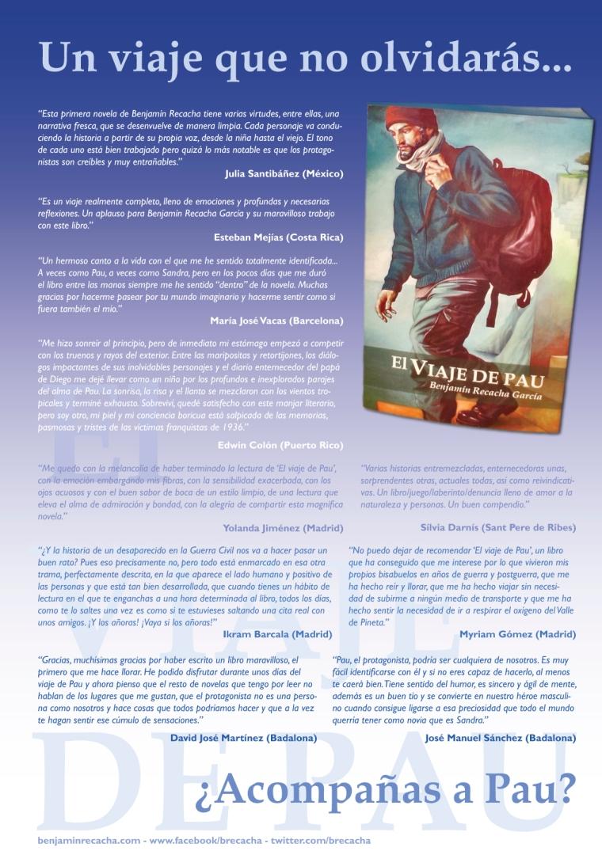 Cartel promocional de 'El viaje de Pau'