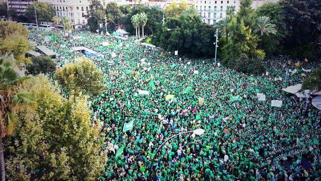 Manifestación Baleares