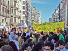 Manifestación por la educación I