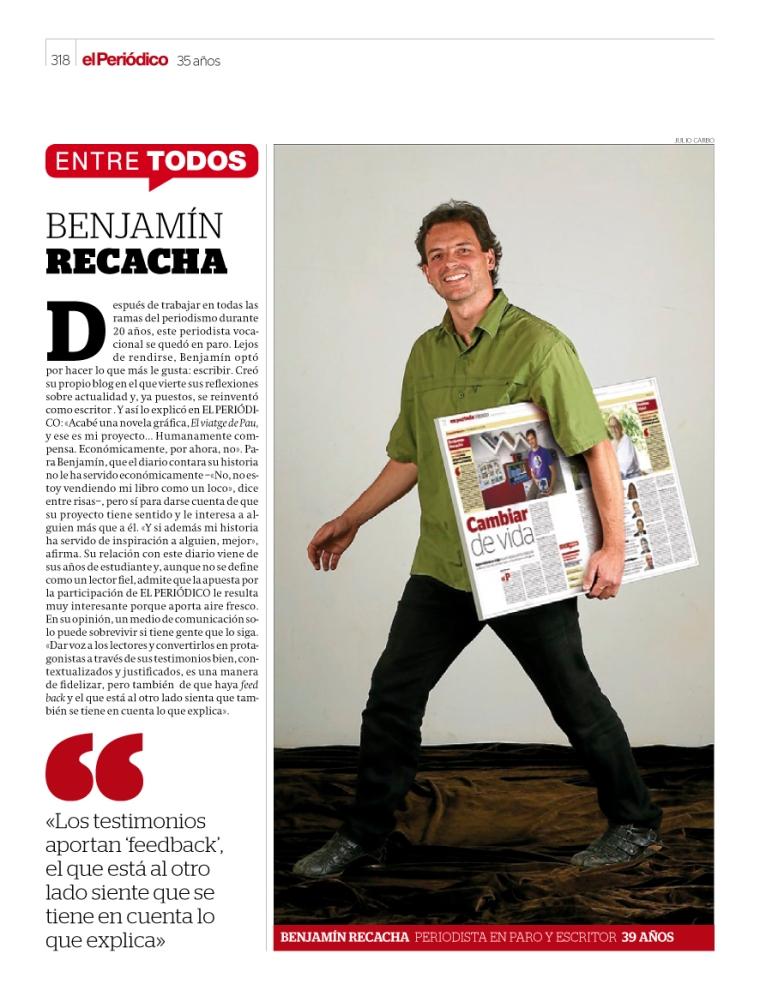 Suplemento 35 aniversario 'El Periódico'