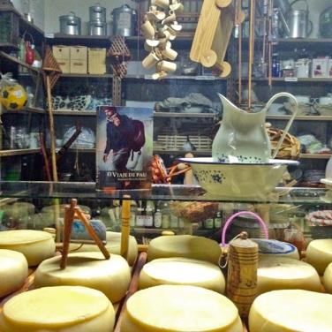 Quesos de oveja, vaca y cabra. Foto: María Suárez