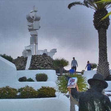 Lanzarote - Monumento al Campesino