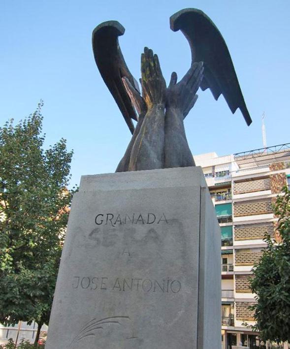 Granada - Monumento al fascismo