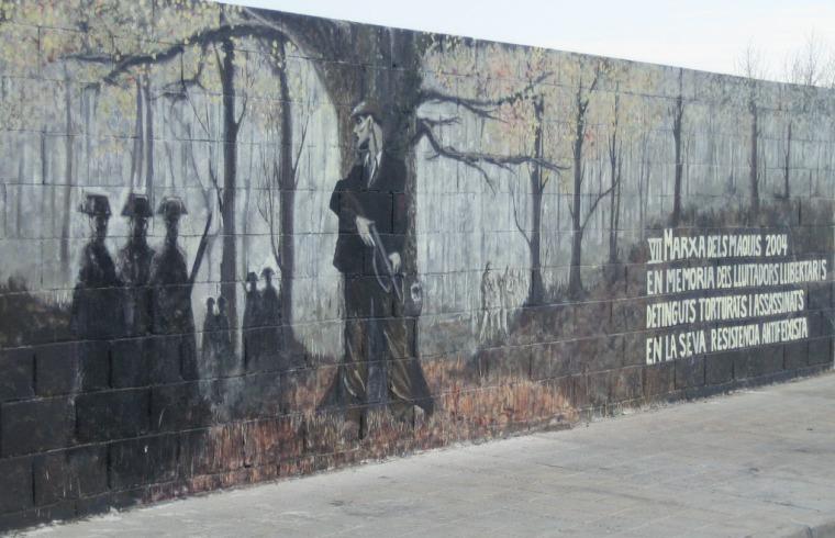 Mural maquis Sallent