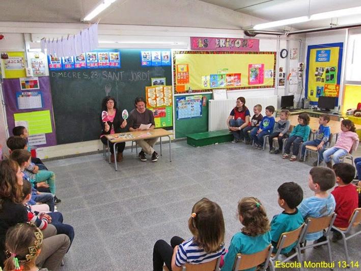 Sant Jordi - Escola Montbui
