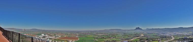 Antequera - Vista de la vega
