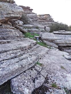 Un rincón para descansar en la excursión. Foto: Toni Cifuentes