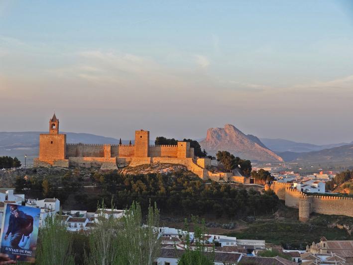 Antequera - Alcazaba, muralla y Peña de los Enamorados