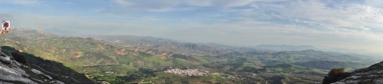 Antequera - Panorámica desde El Torcal