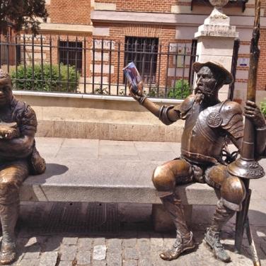 Alcalá de Henares - Quijote y Sancho