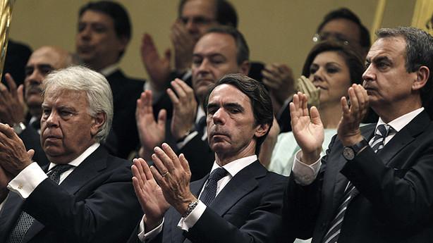 González, Aznar, Zapatero