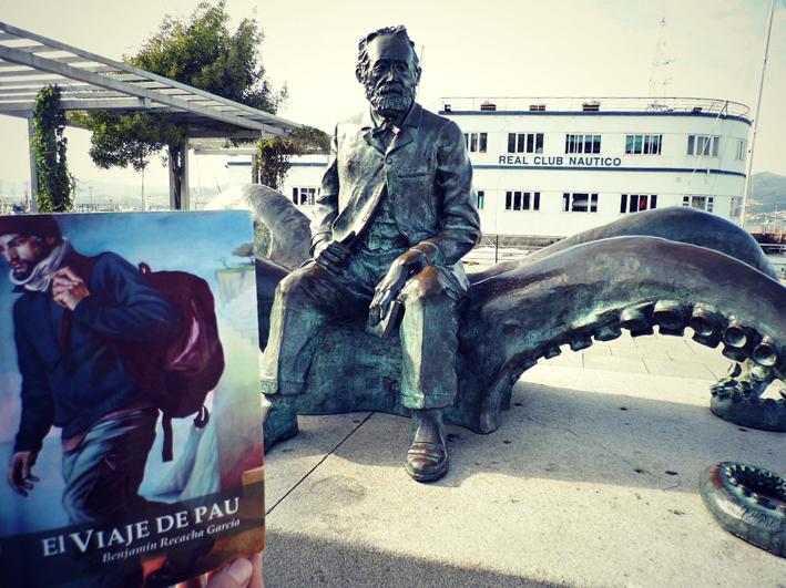 Vigo - Monumento a Julio Verne