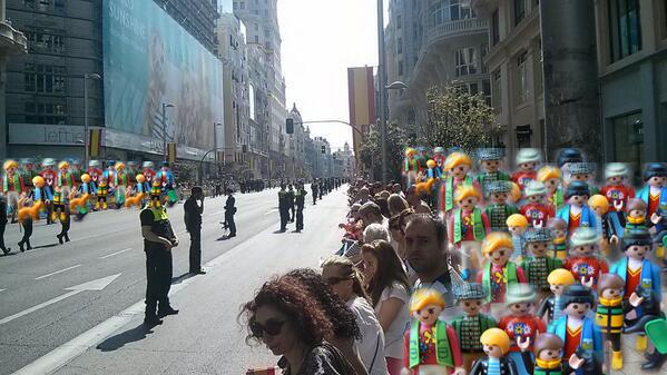 Desfile Felipe VI