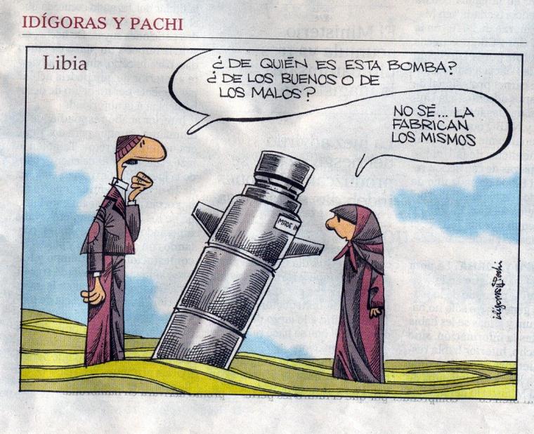 Viñeta Idígoras y Pachi