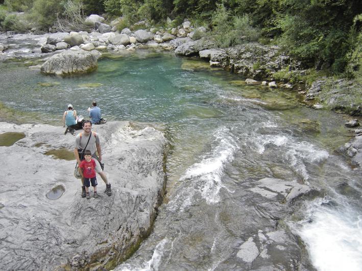 Cañón de Añisclo - Río Bellós