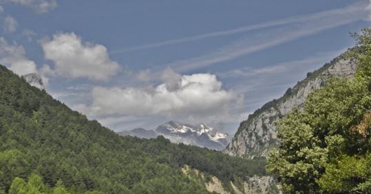 Camping Bielsa - Monte Perdido