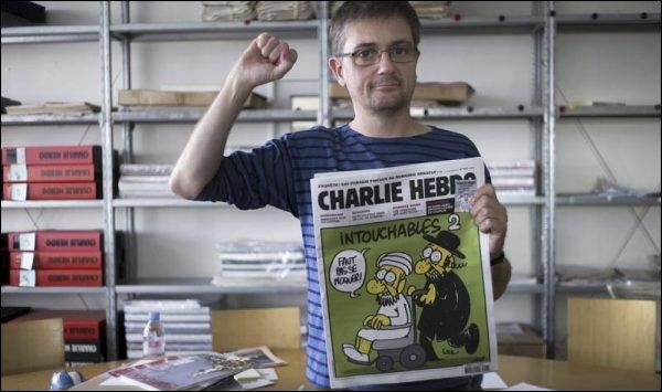 Charb, director de Charlie Hebdo