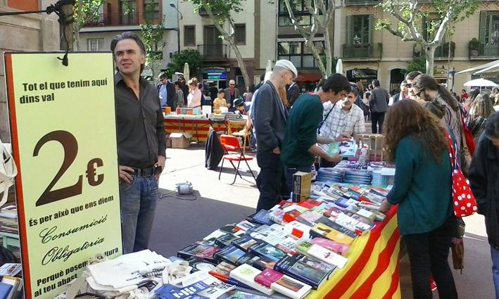 Sant Jordi 2015 - Plaça de la Vila de Gràcia