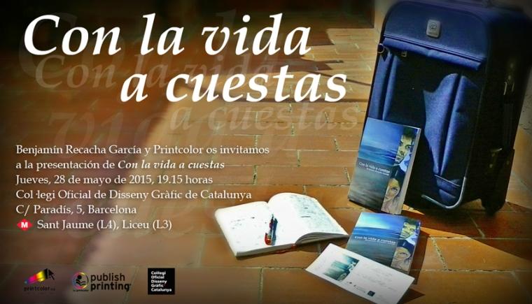 Con la vida a cuestas - Benjamín Recacha García