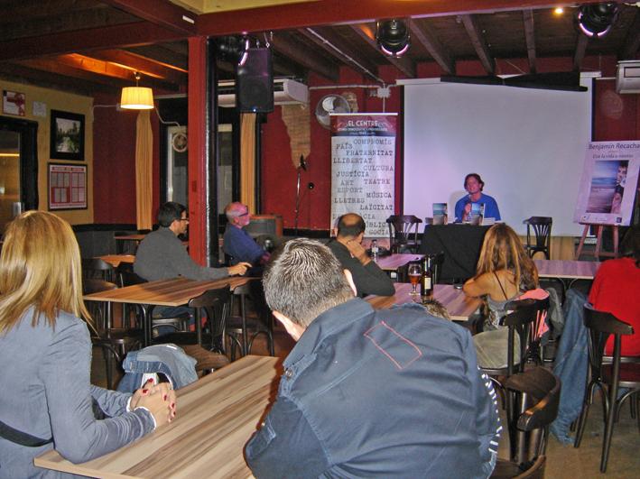 Presentació 'Con la vida a cuestas' - El Cafè del Centre