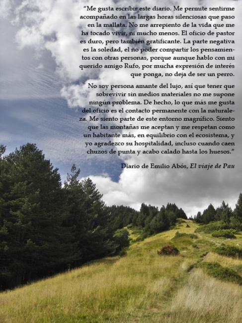 Sierra de Espierba - El viaje de Pau