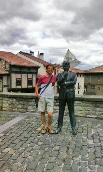 Ken Follett en Vitoria-Gasteiz