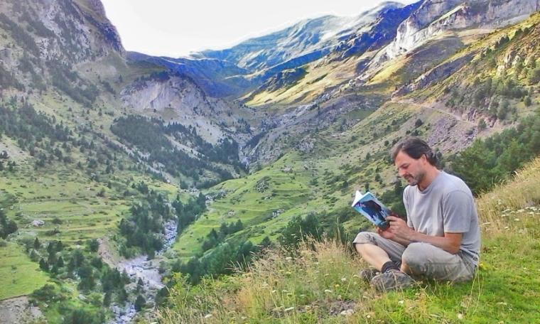 Leyendo en el Pirineo Aragonés