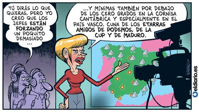 Las viñetas de Bernardo Vergara para eldiario.es son buenísimas.