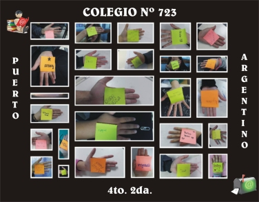 Montaje alumnos 4º2ª Colegio Nº723