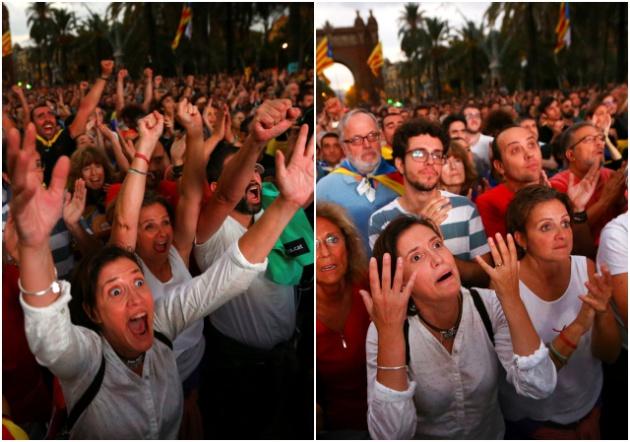 Decepción en Barcelona - Iván Alvarado/Reuters