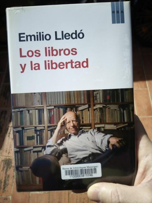 Los libros y la libertad - Emilio Lledó