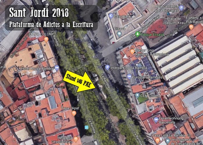 Sant Jordi 2018 - PAE