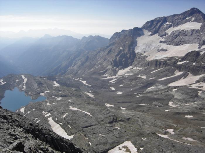 Monte Perdido y Marboré desde Astazu