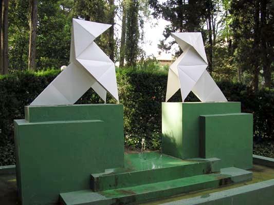 Monumento de Las Pajaritas - Ramón Acín