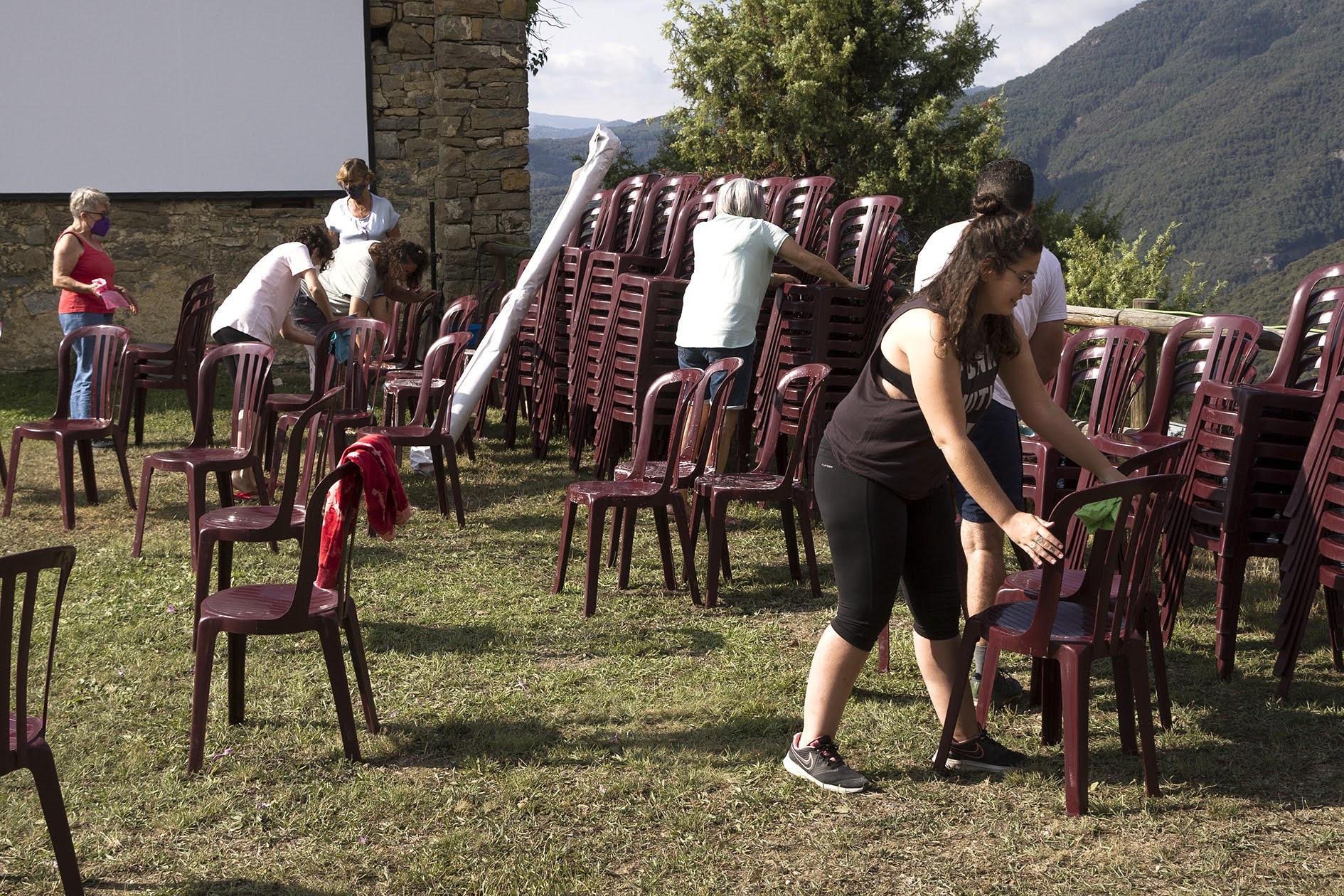 Preparando la era del cine - Muestra de Cine de Ascaso